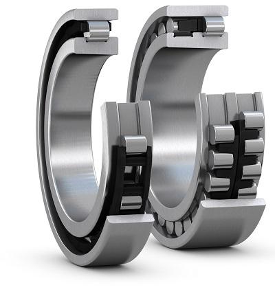 SKF Cilinderlager, SKF Cylindrical roller bearing, Rodamiento de rodillos cilíndricos SKF